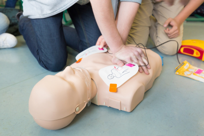 cpr training exercise
